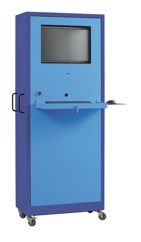 Armoire informatique 1er prix (mobile) H1900 x L750 x P400 mm